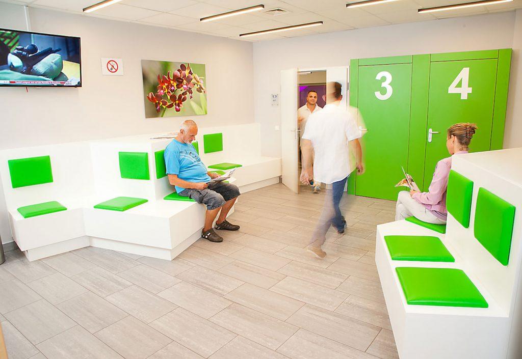 Wartebereich MRT im Diagnosezentrum Donaustadt, 1220 Wien